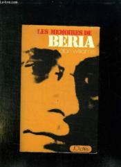 Les Memoires De Beria. The Beria Papers. - Couverture - Format classique