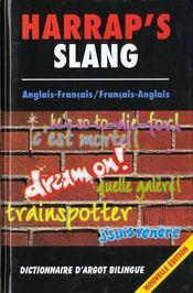 Harrap'S Slang Nte Dictionnaire A?Glais Francais - Intérieur - Format classique