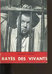 Rayes Des Vivants. - Couverture - Format classique