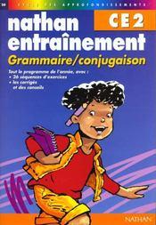 Grammaire Ce2 - Intérieur - Format classique