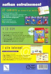 Grammaire Ce2 - 4ème de couverture - Format classique