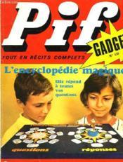 Pif Gadget N°138 - Couverture - Format classique