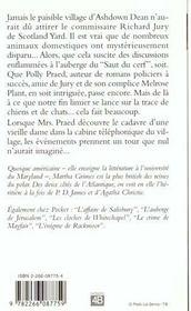 La Nuit Des Chasseurs - 4ème de couverture - Format classique