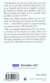 Leonore Toujours - 4ème de couverture - Format classique