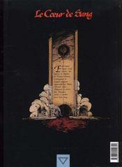 Coeur de sang t.1 ; les chevaliers-guides - 4ème de couverture - Format classique