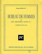 Bureau de femmes - Couverture - Format classique