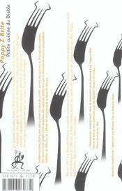 Petite Cuisine Du Diable - 4ème de couverture - Format classique