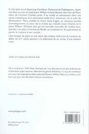 William Et Cie - 4ème de couverture - Format classique