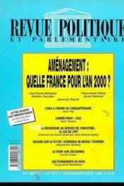 Quelle France Pour L'An 2000 ? Revue Politique & Parlementai - Couverture - Format classique