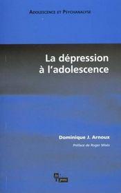 La depression a l'adolescence - Intérieur - Format classique