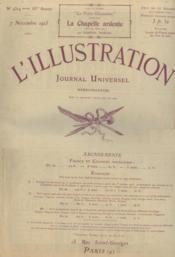 L'illustration. journal hebdomadaire universel. n°4314, 83me année, 7 novembre 1925 - Couverture - Format classique