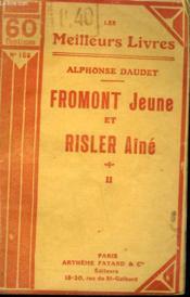 Fromont Jeune Et Risler Aine. Tome 2. Collection : Les Meilleurs Livres N° 155. - Couverture - Format classique