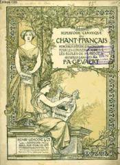 Repertoire Classique Du Chant Francais N°13 - Couverture - Format classique