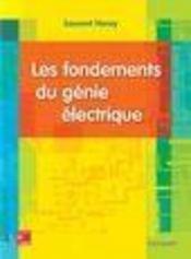 Les fondements du génie électrique - Intérieur - Format classique