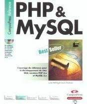 Php Et Mysql Cp Ref - Intérieur - Format classique