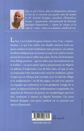 Peaux de chagrin ; la chirurgie plastique au service de l'humanité - 4ème de couverture - Format classique