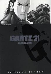 Gantz t.21 - Intérieur - Format classique