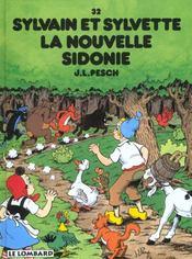 Sylvain et Sylvette T.32 ; la nouvelle Sidonie - Intérieur - Format classique