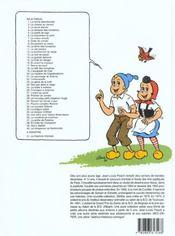 Sylvain et Sylvette T.32 ; la nouvelle Sidonie - 4ème de couverture - Format classique