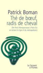 The De Boeuf Radis De Cheval - Couverture - Format classique