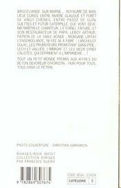 Broceliande-Sur-Marne N 183 - 4ème de couverture - Format classique