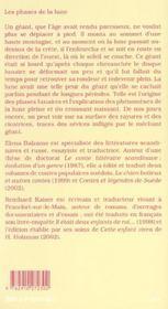 Contes et legendes d'allemagne suisse - 4ème de couverture - Format classique