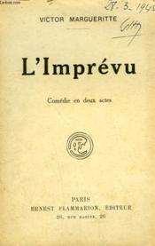 L'Imprevu. Comedie En 2 Actes. - Couverture - Format classique