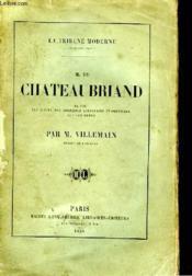 M. de Chateaubriand - Couverture - Format classique