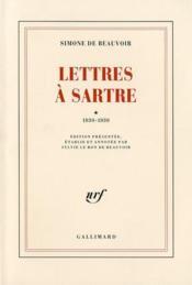 Lettres à Sartre t.1 - Couverture - Format classique