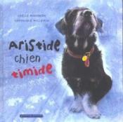 Aristide chien timide - Couverture - Format classique
