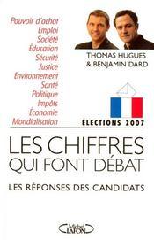 Les chiffres qui font débat ; les réponses des candidats - Intérieur - Format classique