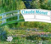 Coloring book claude monet - Couverture - Format classique