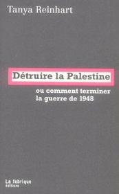 Detruire la palestine - Intérieur - Format classique