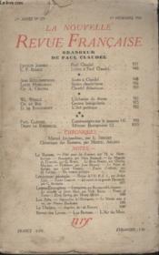 Collection La Nouvelle Revue Francaise N° 279. Grandeur De Paul Claudel. - Couverture - Format classique