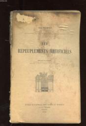 Les Repeuplements Artificiels - Couverture - Format classique