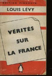 Verites Sur La France - Couverture - Format classique