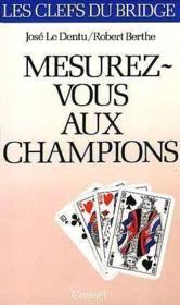 Mesurez-vous aux champions - Couverture - Format classique