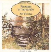 Paysages A L Aquarelle - Couverture - Format classique