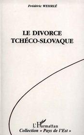 Le divorce tchéco-slovaque - Intérieur - Format classique