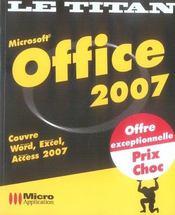 Office 2007 - Intérieur - Format classique