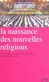 La Naissance Des Nouvelles Religions - Intérieur - Format classique