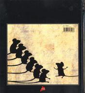 Sept souris dans le noir - 4ème de couverture - Format classique
