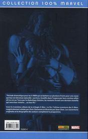 X-men t.6 ; la fin : humains et x-men - 4ème de couverture - Format classique