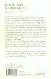 Brumes Du Passe (Les) - 4ème de couverture - Format classique