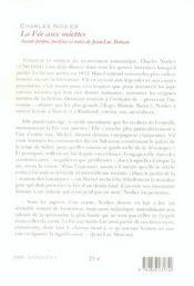 Fee au miettes -nouvelle edition - 4ème de couverture - Format classique