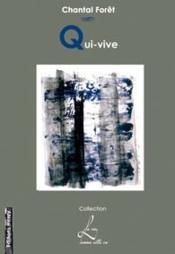 Qui-vive - Couverture - Format classique