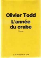 L'annee du crabe - Couverture - Format classique