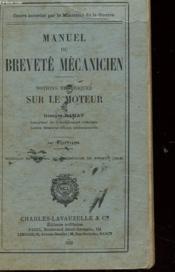 Manuel Du Brevete Mecanicien - Notions Theoriques Sur Le Moteur - Couverture - Format classique