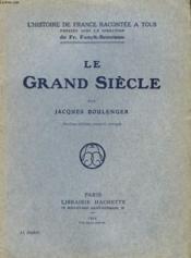 Le Grand Siecle - Couverture - Format classique
