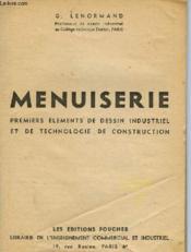 Menuiserie - Couverture - Format classique